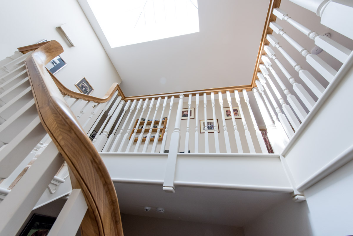 Painted bespoke staircases designed to fit your home in the South West