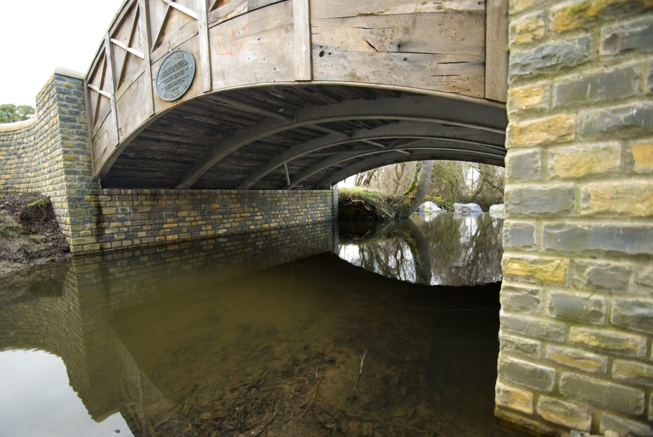 A bridge built for a period property in the heart of somerset